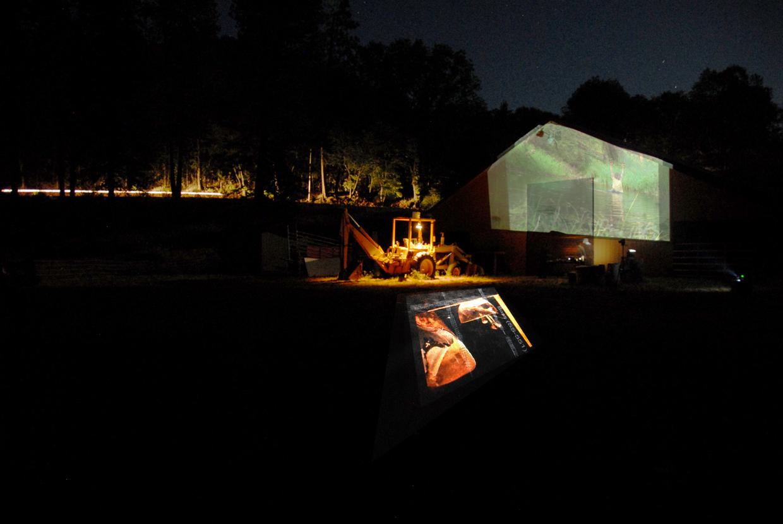 ShortFilms_Barn installation